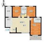 鸿杰第一城 3室 2厅 2卫  毛坯